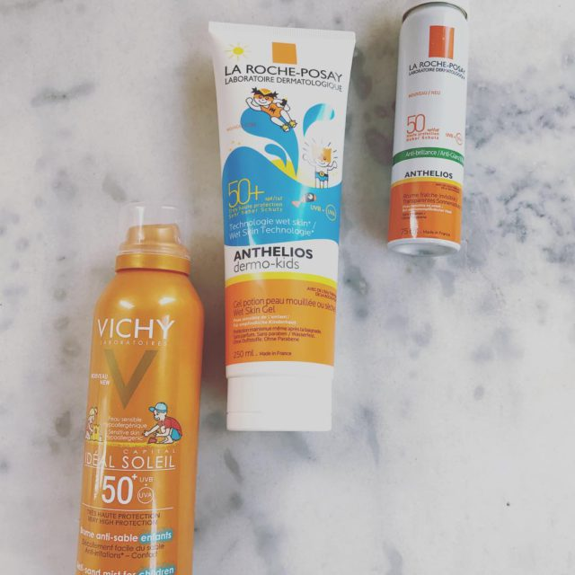 My family sunscreen essentials this holiday vichybe larocheposaybe holiday hellip